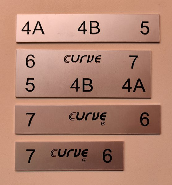 Serigrafía de piezas de aluminio para Ecilimp