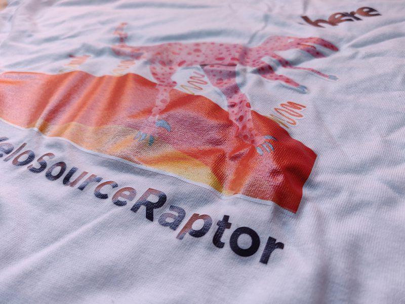 Serigrafía de camisetas para Here