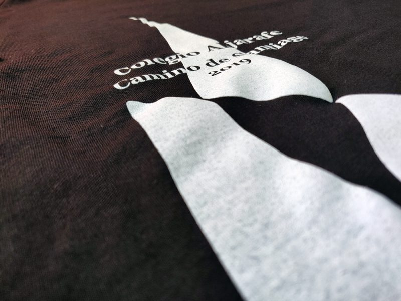 Serigrafía de camisetas para Colegio Aljarafe