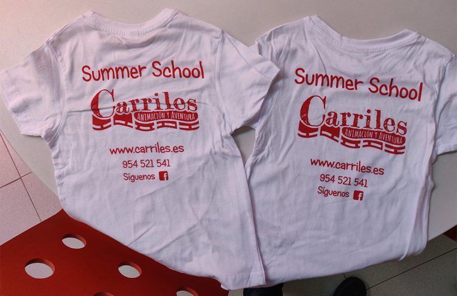 Serigrafía de camisetas para Carriles