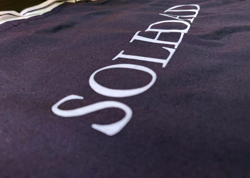 Serigrafía de delantales para Hermandad Soledad
