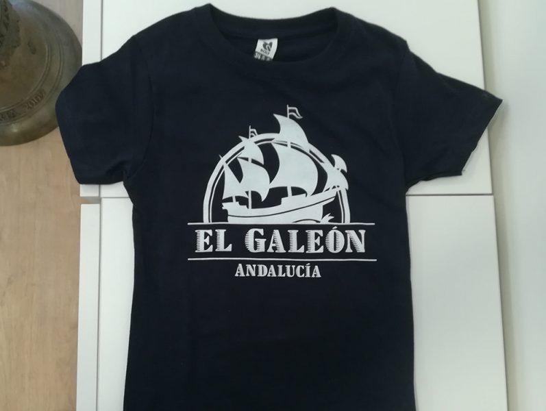 Serigrafía de camisetas para El Galeón