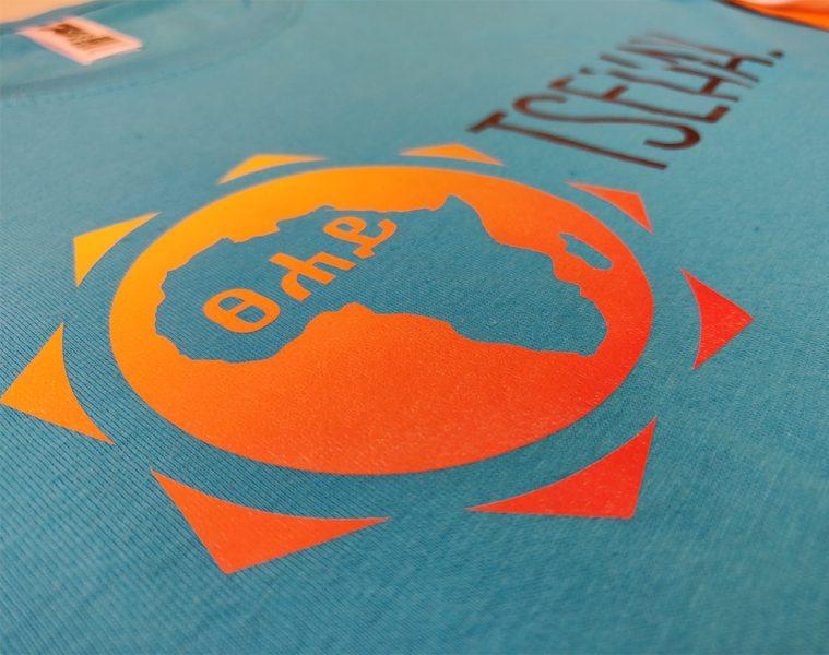 Serigrafía de camisetas para Tsehay