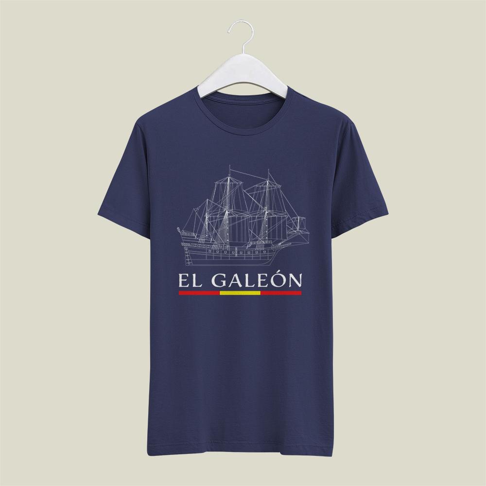 Serigrafía de camisetas para Galeón/Nao Victoria
