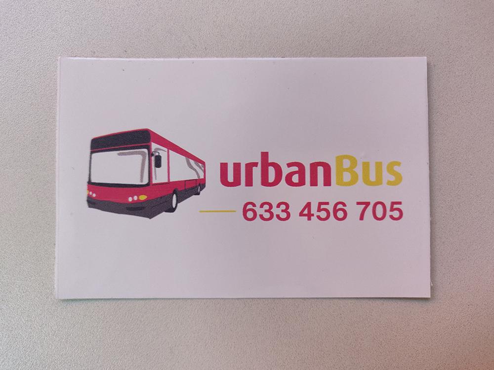 Adhesivos para urbanBus